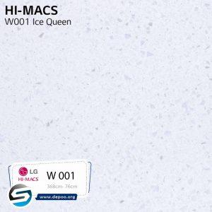 هایمکس-ICEQUEEN-W001 گروه سنگ مصنوعی  ایران